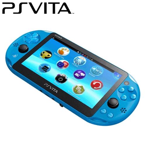 【客訂】PS Vita PCH-2007主機 PCH-2007 ZA23 水波藍
