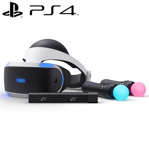 Playstation VR 豪華全配組 CHU-ZVR1TCM【本月送MOVE手把果凍套2入組】