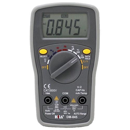 多功能數字電錶DM-845