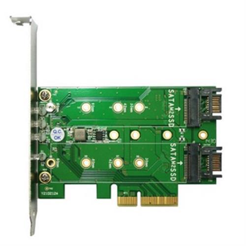 伽利略 PCIe 4X M.2 SSD 轉接卡