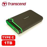 Transcend創見 StoreJet 25MC 1TB 2.5吋 Type-C 軍規防震防摔 外接式硬碟