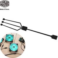 Cooler Master 1對3 RGB分接線