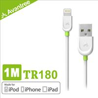 Avantree MFI Lightning USB apple認證100公分充電傳輸線(TR180)