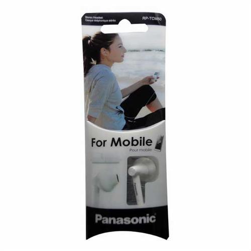 Panasonic手機用耳塞式耳麥RP-TCM50-W白