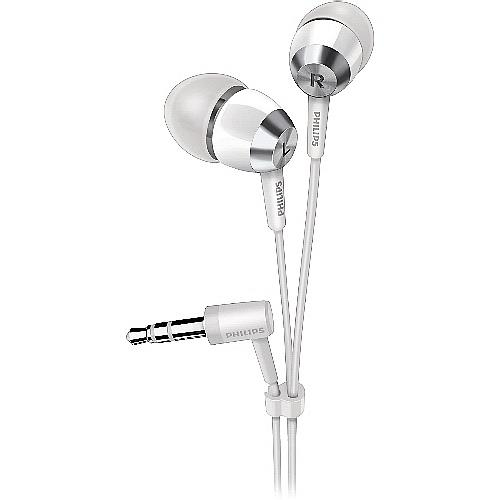 PHILIPS 耳道式耳機 SHE7000-WT 白