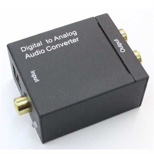 光纖 轉 RCA 類比 訊號轉換器
