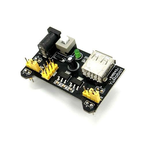 麵包板專用電源模組(3.3/5V可切換)