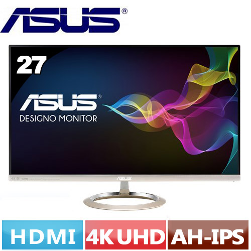 R2【福利品】ASUS華碩 27型 4K護眼美型液晶螢幕 MX27UC