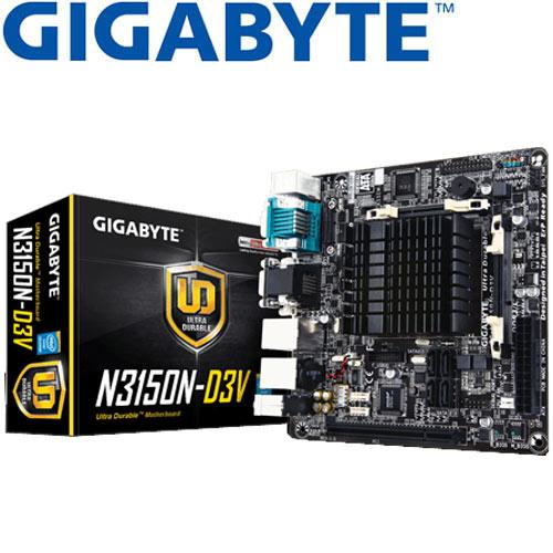 GIGABYTE技嘉 GA-N3150N-D3V 主機板