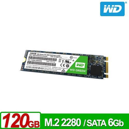 WD SSD 120GB M.2 2280 SATA 固態硬碟(綠標)