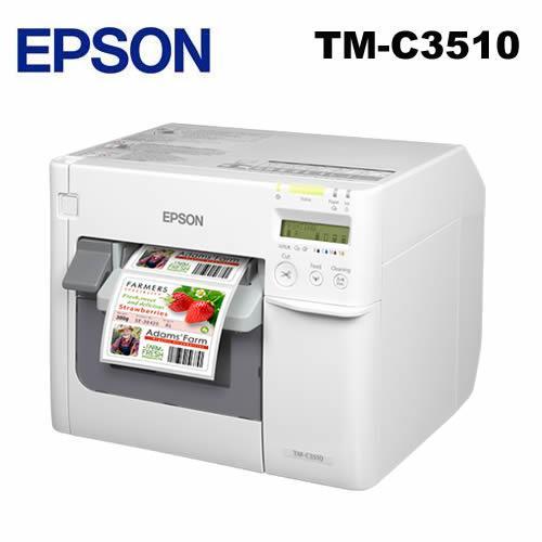 EPSON TM-C3510 噴墨式彩色標籤印表機