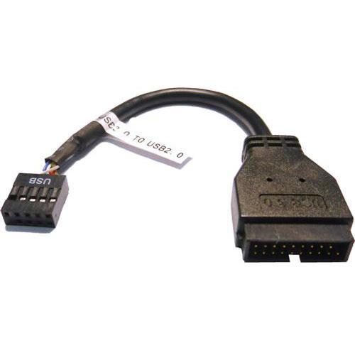 USB 3.0 公 轉 2.0 母 主機板線