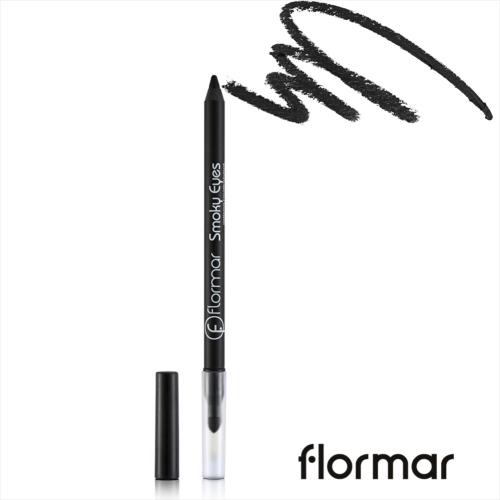 法國 Flormar 煙燻防水眼線筆#001煙燻黑(1.14g)