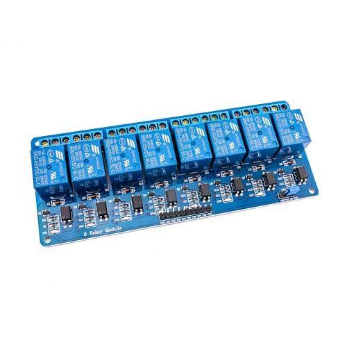5V 8路繼電器模組