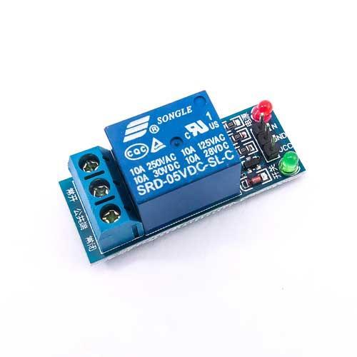 5V 1路繼電器模組