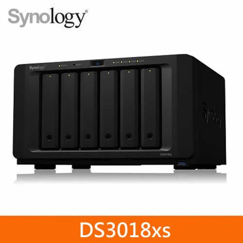 Synology DS3018xs 6Bay 網路儲存伺服器