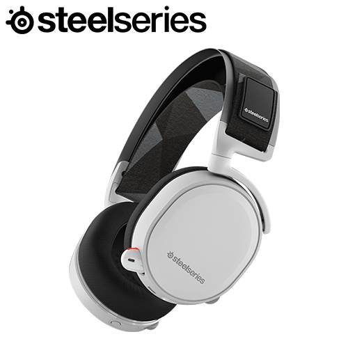 SteelSeries 賽睿 Arctis 7 耳機麥克風 白