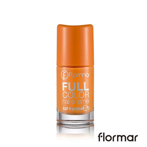 法國 Flormar玩色指甲油-FC18法式燻鮭魚(8ml)