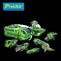 ProsKit 寶工科學玩具  GE-640  7合1太陽充電車組
