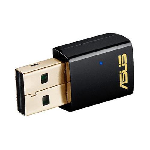 R2【福利品】【原廠3年保固】ASUS 華碩 USB-AC51雙頻網路卡