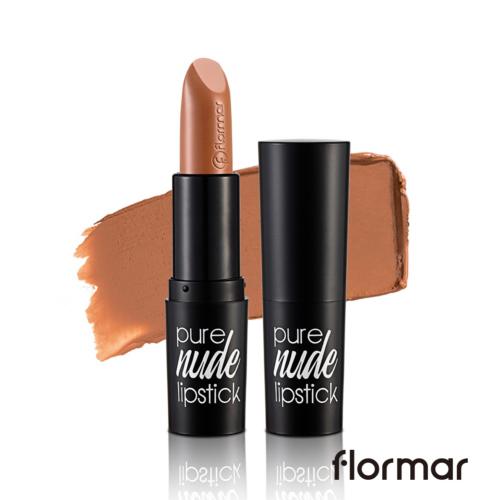 法國 Flormar絕對赤裸 裸色唇膏#006牛奶巧克力(4g)