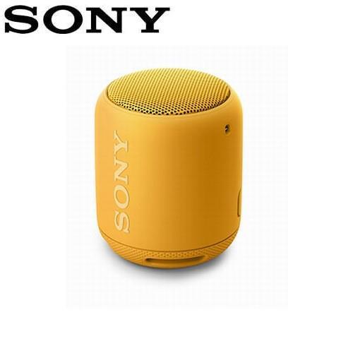SONY 可攜式無線防水藍牙喇叭 SRS-XB10-Y 黃