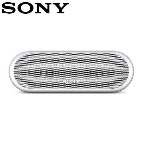 SONY 可攜式無線防水藍牙喇叭 SRS-XB20-W 白