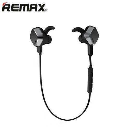 REMAX 磁吸收納藍芽運動耳機 RB-S2 黑【低於85折 現省150】
