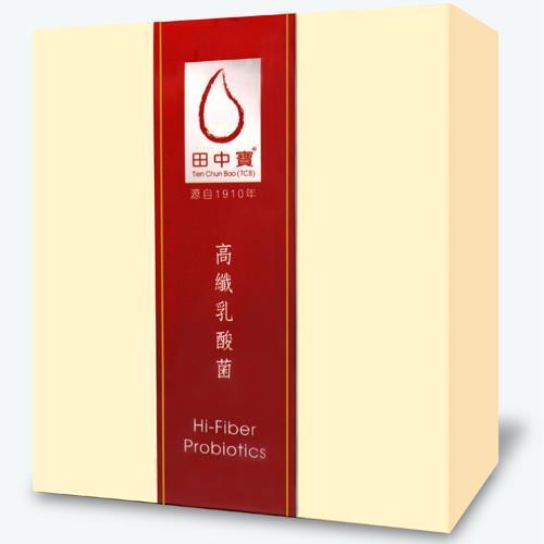【中天生技】李時珍 田中寶高纖乳酸菌20包/盒(5盒組)【年節限定!加贈乙盒】
