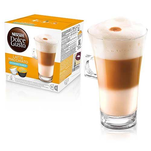 DOLCE GUSTO無糖拿鐵咖啡膠囊16顆入