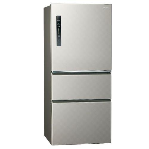 Panasonic國際牌601公升 NR-C619HV-S 三門變頻電冰箱電冰箱(銀河灰) 【含運