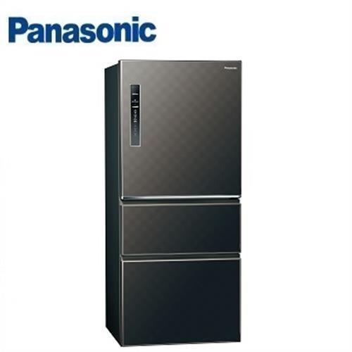 Panasonic國際牌601公升 NR-C619HV-K三門變頻電冰箱電冰箱(星空黑) 【省3千4送炒鍋 含運+送基安+回收舊機】