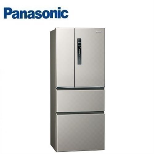 Panasonic國際牌 500公升NR-D509HV-S四門變頻冰箱 (銀河灰)【省3千7送炒鍋 含運+送基安+回收舊機】