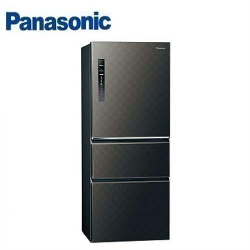 Panasonic國際牌 500公升 NR-C509HV-K三門變頻冰箱(星空黑)【含運
