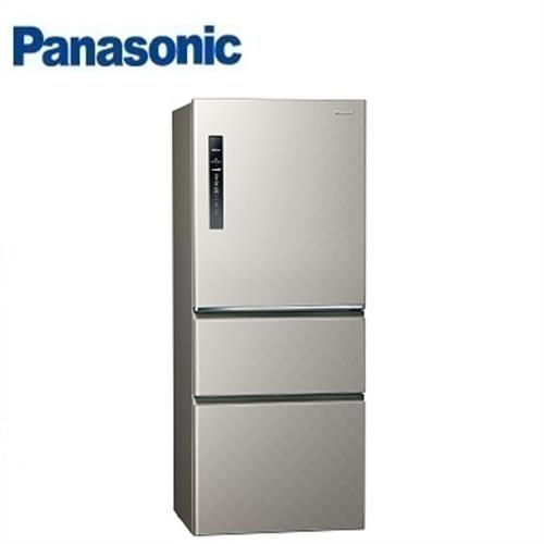Panasonic國際牌 500公升 NR-C509HV三門變頻冰箱(銀河灰)【含運