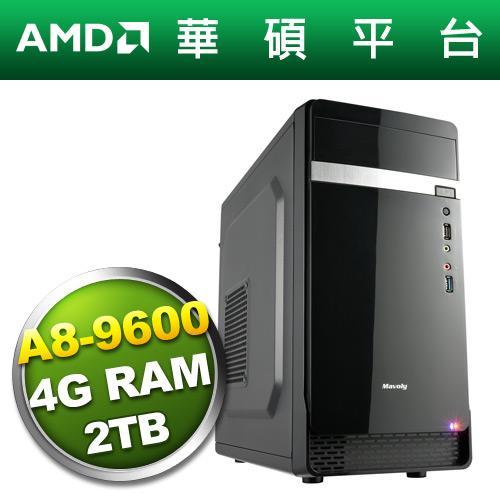华硕A320平台【星域战神】A8四核电脑