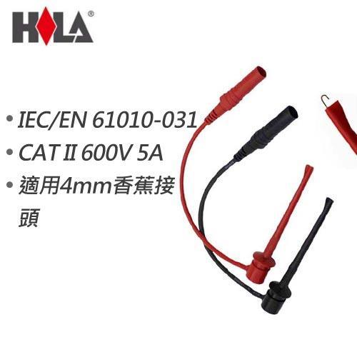 HILA海碁 4mm香蕉頭轉測試鉤 FC-N25