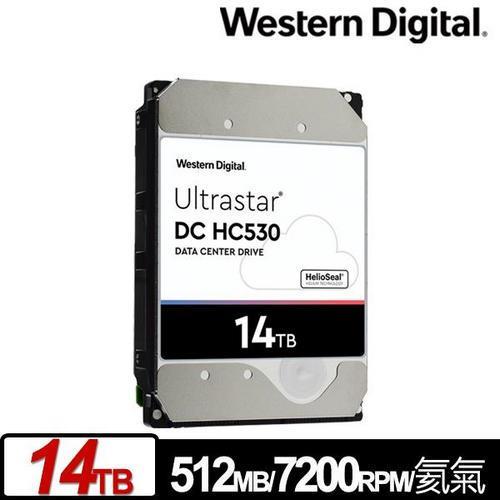 WD 威騰 Ultrastar DC HC530 14TB 3.5吋企業級硬碟