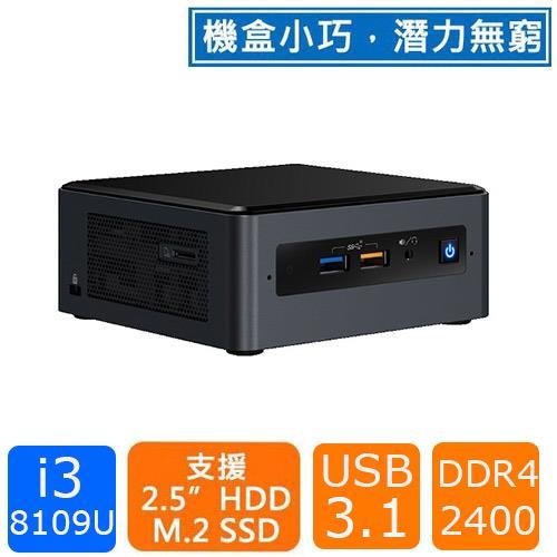 Intel NUC BOXNUC8i3BEH1(i3-8109U)