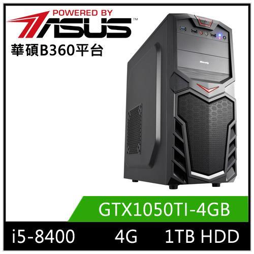 (8代i5六核心)华硕B360平台[恶魔游侠]i5六核GTX1050TI独显电玩机