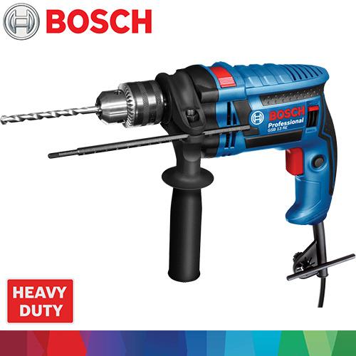 BOSCH 四分無段變速震動電鑽手工具組 GSB13REHT