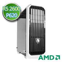 技嘉B450平台【諸神記史】Ryzen六核 P620-2G繪圖獨顯 1TB效能電腦