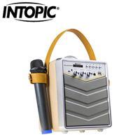 INTOPIC 廣鼎 無線K歌木質藍牙喇叭 SP-HM-BT188