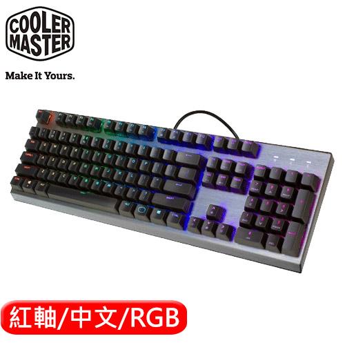 Cooler Master 酷媽 CK350 RGB 機械電競鍵盤 紅軸 中文