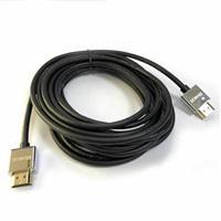 極細HDMI2.0版高階影音傳輸線 5M 黑色