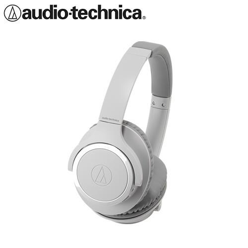 【公司貨-非平輸】鐵三角 ATH-SR30BT 無線藍牙耳罩式耳麥 灰色