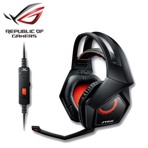 ASUS 華碩 梟鷹 STRIX 2.0 電競耳機麥克風【精準定位和臨場遊戲音效】
