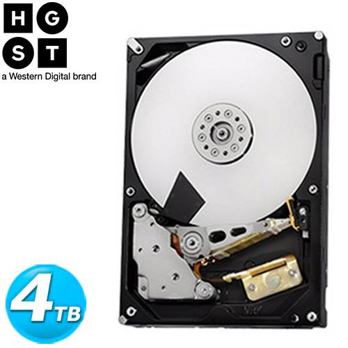 HGST 3.5吋 4TB SATA3 7200轉 NAS專用 內接硬碟