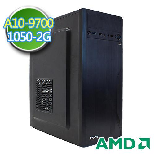技嘉A320平台【冰霜絕劍】AMD APU 四核 GTX1050-2G獨顯 1TB效能電腦
