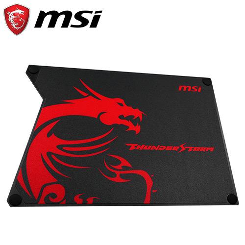 MSI 微星 Thunderstorm 雷暴雙用鋁質電競滑鼠墊